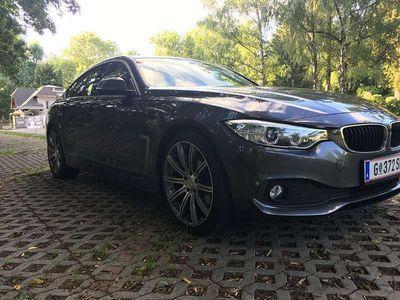 gebraucht BMW 420 Gran Coupé 4er-Reihe d - Servicegepflegt Limousine