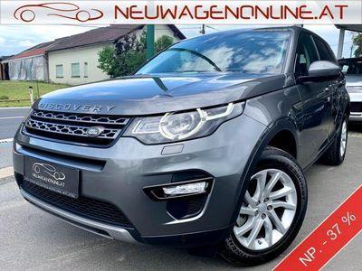 gebraucht Land Rover Discovery Sport 2,0 TD4 150 4WD SE Automatik Jungwagen - 37 %