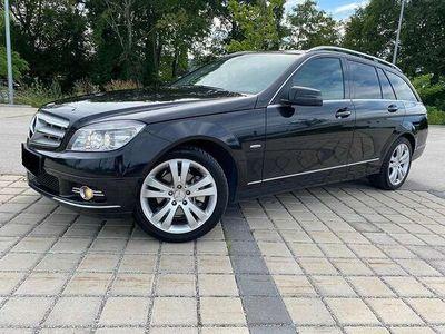 gebraucht Mercedes C220 C-KlasseCDI T Avantgarde *Sofortkredit*NAVI*Leder*Tempomat*MFL*Bluetooth* Kombi / Family Van