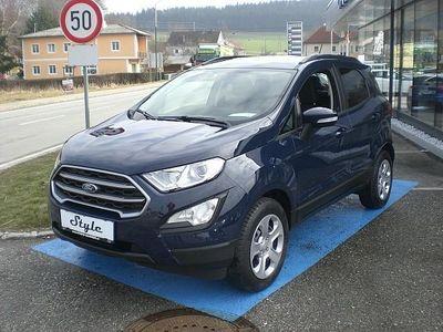 gebraucht Ford Ecosport STYLE 100 PS EcoBlue (TOP-AUSSTATTUNG ... SUV / Geländewagen,