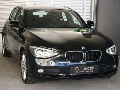 used BMW 118 d Österreich-Paket/ Xenon, Einpark- hilfe, Sitzhei