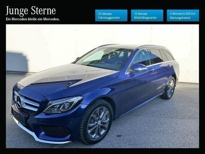 gebraucht Mercedes C250 BlueTEC 4MATIC T-Modell **AMG-Line**