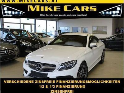 gebraucht Mercedes C220 d C -Klasse Coupe AMG, Led,Navi,Alcantara
