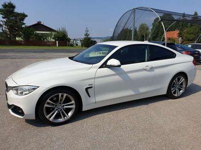 gebraucht BMW 418 Diesel (F32) Coupe Sport Line Navi Xenon