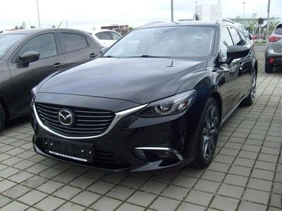 gebraucht Mazda 6 Sport Combi CD175 Revolution Top Aut. Navi