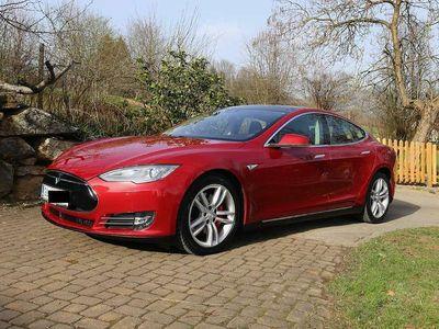 gebraucht Tesla Model S 700PS Allrad Vollausstattung +21 Zoll Sommerräder Limousine