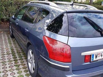 gebraucht Peugeot 407 SW PREM HDI 136 Limousine