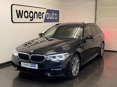 gebraucht BMW 540 i Touring xDrive Aut.M-Sport/LED/ACC/Pano/HeadUp/Massage/AHK/First Class Paket
