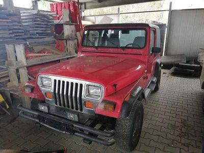 gebraucht Jeep Wrangler 4,0 Hard Top 132KW/180 PS 6 Zylinder SUV / Geländewagen,