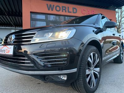 gebraucht VW Touareg Sport 3,0 TDI V6 BMT 4Motion Aut. R-LINE