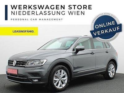 gebraucht VW Tiguan 2,0 TSI 4Motion Highline DSG SUV / Geländewagen