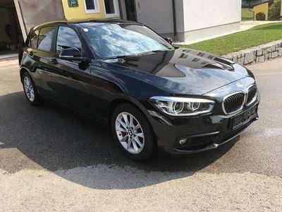 gebraucht BMW 118 1er-Reihe d Advantage Aut. Navi, SZH uvm. Limousine