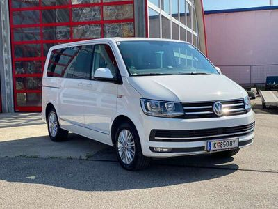 gebraucht VW Multivan T6Highline DSG elektr. Schiebet. - 34.000 netto