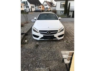 gebraucht Mercedes C180 Coupe 7G-TRONIC AMG Line