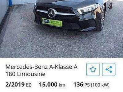 gebraucht Mercedes A180 Limousine