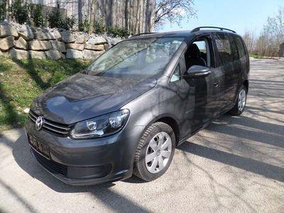gebraucht VW Touran Conceptline BMT 1,9 TDI 7-Sitzer Garantie bis 3 Jahre Leasing ab €149.-/Monat Hauszustellung !!! Kombi / Family Van