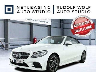 gebraucht Mercedes C180 Cabrio AMG+Advanced+DAB+Kamera+LED Hi+Navi