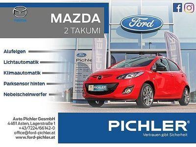 used Mazda 2 21,3i 75PS Takumi II PDC/KLIMAAUT./1. BE... Limousine,