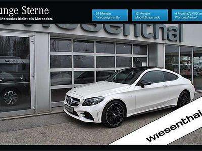 gebraucht Mercedes C43 AMG C-KlasseAMG Coupe 4MATIC Aut. Sportwagen / Coupé