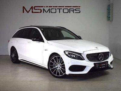 gebraucht Mercedes C43 AMG C-KlasseAMG T 4MATIC / BURMESTER / PANO / DISTRONIC / PERF. AGA / KREDIT / GARANTIE Kombi / Family Van