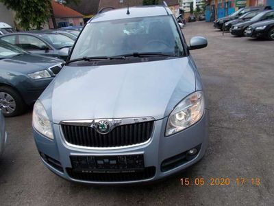 gebraucht Skoda Roomster Style 1,9 TDI PD DPF