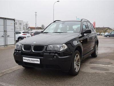 gebraucht BMW X3 2,0d SUV