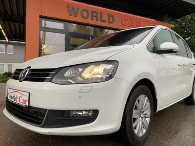 gebraucht VW Sharan Karat BMT SCR 2,0 TDI NAVI-XENON-DYNAUDIO-FACELIFT Kombi / Family Van,