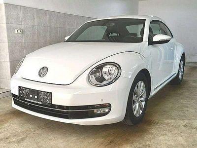 gebraucht VW Beetle 2,0 TDI BMT Design Navi-Klima-MF/Sportlederlenkrad-Bluetooth-Tempomat-Alu16″-PDC/vo/hi-Spiegelpaket-NSW-usw…