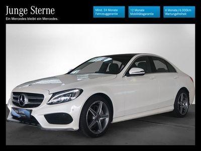 gebraucht Mercedes C220 d 4MATIC AMG Line Aut. *AMG-Line*Comand-Navi*LED*Panoramadach*u.v.m.*