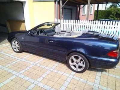 gebraucht Mercedes CLK320 CLK-KlasseElegance Automatik Cabrio / Roadster,