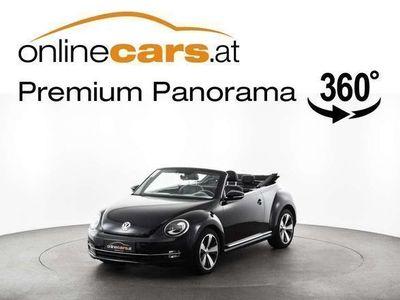 gebraucht VW Beetle Cabriolet Sport 2.0 TDI XENON LEDER TEMP SHZ MEGAP