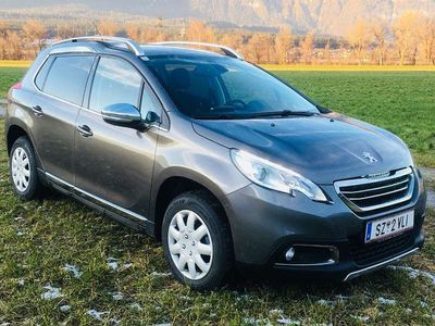 gebraucht Peugeot 2008 1,6 HDI SUV / Geländewagen