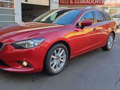 gebraucht Mazda 6 Sport Combi CD150 Attraction Navi Kombi / Family Van