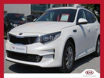 gebraucht Kia Optima Wagon 1,7 CRDi ISG Silber DCT Kombi / Family Van,