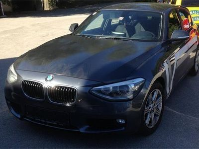 gebraucht BMW 118 Coupé 1er-Reihe d Coupé Österreich-Paket Sportwagen /