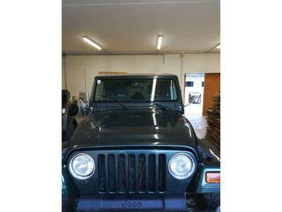 gebraucht Jeep Wrangler 4,0 Sahara Top in Top