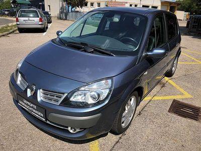 gebraucht Renault Scénic II Exception 1,6 16V Aut. Kombi / Family Van,