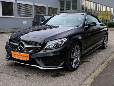 gebraucht Mercedes C200 Cabrio 4MATIC Aut. AMG Line Vollausstattung