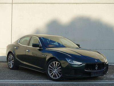 gebraucht Maserati Ghibli Diesel *30 Stück weltweit in verde*Bi-Xenon*Sch...