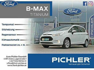 gebraucht Ford B-MAX Titanium 1,5 TDCi PDC VO+HI/TEMP./KLIMAAUT. Kombi / Family Van