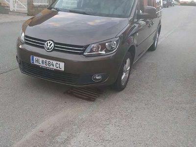 gebraucht VW Caddy Maxi Caddy 1.6 TDIcomfortline Kombi / Family Van