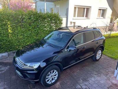 gebraucht VW Touareg V6 TDI BMT 4Motion Aut. Standheizung, Navi, Leder