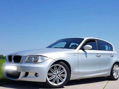 gebraucht BMW 118 1er-Reihe d DPF M Paket Sportpaket Leder Limousine