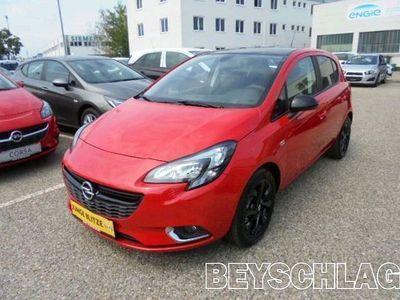 gebraucht Opel Corsa 1,4 Black&Color Limousine,
