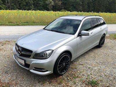 gebraucht Mercedes C180 C-KlasseT CDI A-Edition BlueEfficiency Automatik Kombi / Family Van