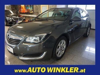 gebraucht Opel Insignia ST 1,6CDTI Edition Aut Virtual/Navi/Xenon