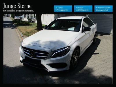 used Mercedes C180 AMG Line A-Edition Plus