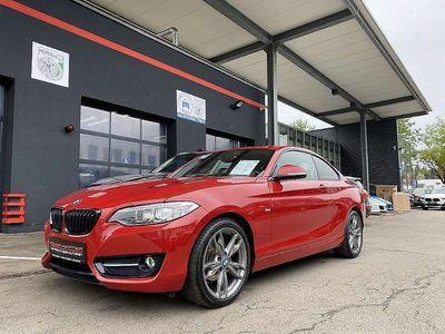gebraucht BMW 218 d Coupé Sport Line