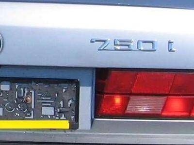 gebraucht BMW 750 7er-Reihe i V12 Limousine