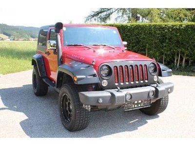 gebraucht Jeep Wrangler 3,8 V6 Rubicon Hardtop Aut.